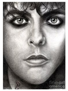 Realistic pencil drawing of billie joe armstrong green day art print featuring the drawing realistic pencil Realistic Pencil Drawings, Billie Joe Armstrong, Face Sketch, Cervical Cancer, Healthy Living Magazine, Health Challenge, Health Goals, Green Day, Health Quotes