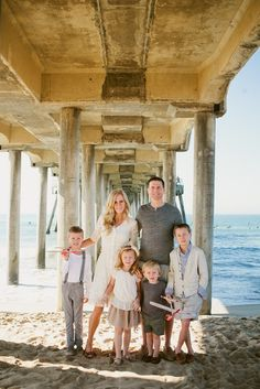 Our family photos, Huntington Beach, CA. Brittany Wood Photography