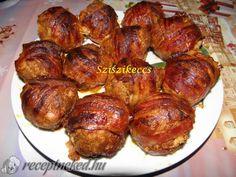Érdekel a receptje? Kattints a képre! My Recipes, Dinner Recipes, Hungarian Recipes, Hungarian Food, Muffin, Street Food, Poultry, Food And Drink, Pork