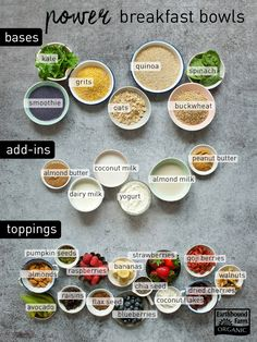 Build a Power Breakfast Bowl | Earthbound Farm Organic