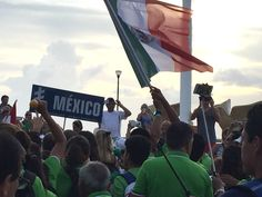 Team Mexico at the World Triathlon event in Cozumel