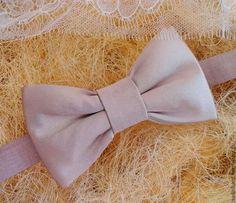 Галстук бабочка Nude Атласный №2 - бежевый,однотонный,галстук,галстук-бабочка