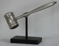Gavel Sculpture Decor