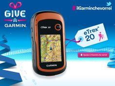 eTREX 20  Per avventure all'aria aperta senza limiti.  #ilgarminchevorrei