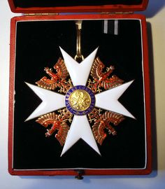 Roter Adler Ordens,  Großkreuz mit Etui. / Prussian Order of The Red Eagle Grand Cross with case.