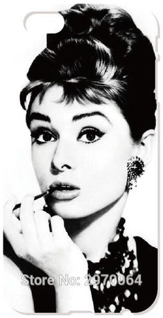 Audrey Hepburn Cell Phone Case For iphone 4 4S 5 5S SE 5C 6 6S 7 Plus For iPod Touch 4 5 6 For Nokia Lumia 520 630 930 Cover