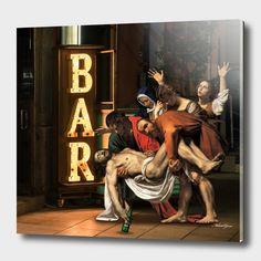 Digital Mashups Of Classic Art Masterpieces With Modern Culture - Arthusiast Memes Arte, Appropriation Art, Classical Art Memes, Arte Pop, Pop Art, Modern Art, Contemporary Art, Art Du Collage, Funny Art