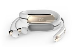 Ashley Chloe Inc. is raising funds for HELIX: Wearable Cuff with Stereo Bluetooth Headphones on Kickstarter! Helix by Ashley Chloe is the first wearable with headphones on your wrist. Helix ensures that fashion and tech are always at hand. Wearable Technology, Technology News, Bluetooth Headphones, Sterling Silver Bracelets, Fashion Bracelets, White Gold, Chloe, Product Design, Business Design