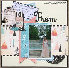 Prom - Scrapbook.com Used Carta Bella Metropolitan Girl