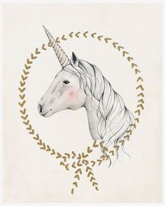 tiny fawn prints unicorn - Google Search