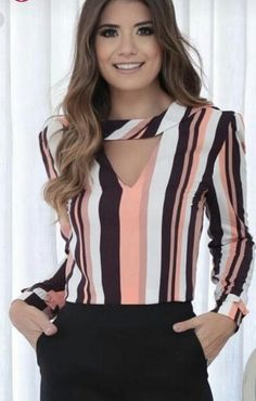 Swans Style is the top online fashion store for women. Shop sexy club dresses, jeans, shoes, bodysuits, skirts and more. Trendy Fall Outfits, Latest Outfits, Girl Fashion, Fashion Dresses, Womens Fashion, Corporate Wear, Sleeves Designs For Dresses, Fancy Tops, Blouse Styles