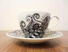 The Finer List - Craft of the Week: Sharpie Mugs