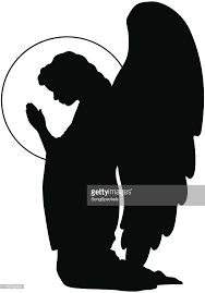 Image result for angel silhouette