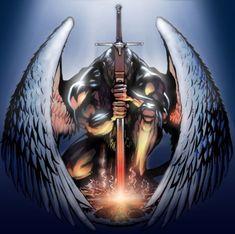 10 Mejores Imágenes De Tatuajes De Angeles Guerreros Archangel