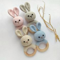 Easter Bunny Rabbit rattle nursery first toy Newborn toy baby shower gift Organic eco animal decor rattle Baby teething toy Bunny Rabbit rattle Crochet Baby gift Natural nursery toys Crochet Animal Amigurumi, Crochet Bunny, Crochet Animals, Crochet Toys, Baby Shower Gifts, Baby Gifts, Handgemachtes Baby, Newborn Toys, Newborn Nursery