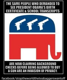 GOP  hypocrisy go together like peanut butter  jelly.  VOTE the DO NOTHING GOP OUT in NOV!