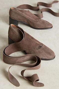 Kupuri Edith Ankle-Wrap Heels - anthropologie.com