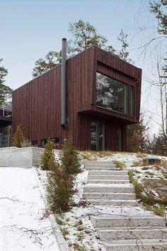 Cool house outside Stockholm.