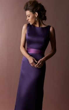 Sleeveless A Line Gown by Landa Designs Bridesmaids LM122