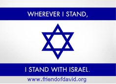 I stand with Israel!! I am a christain,I will always stand with Israel,they are GOD chosen people..I believe no matter what- Israel will be fine as I have said,they have back up.. we call him GOD...