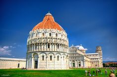 The Baptistry, Pisa