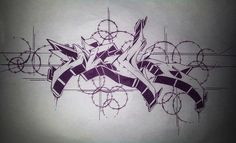 Picture of Sketch by Keber - Agadir (Morocco) Graffiti Piece, Graffiti Tagging, Graffiti Drawing, Street Graffiti, Graffiti Alphabet, Graffiti Lettering, Street Art Graffiti, Art Drawings, Black And White Graffiti