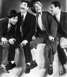 The Marx Brothers...always in a jam and always so funny in the process of getting out of it!