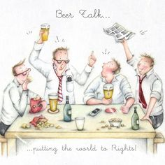 Cards » Beer Talk » Beer Talk - Berni Parker Designs