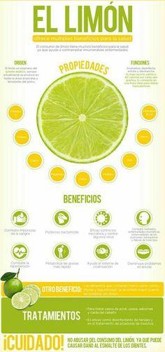 ¿ #SabíasQue el limón puede ayudar a cicatrizar las heridas más rápido? Estos son todos los #Beneficios que aporta. #Salud #BeneficiosDelLimón