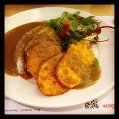 Yasai Katsu Curry, Wagamama! I missss! =(