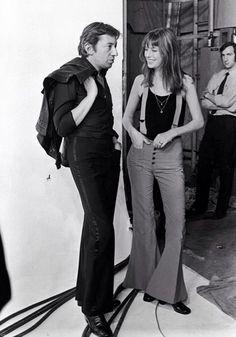 Jane Birkin con Serge Gaingsbourg