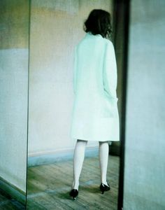 & Other Stories | SS/15 Inspiration  Audrey Marney photographed by Paolo Roversi for Vogue Italia, October 1998 ('A Mirror Story').