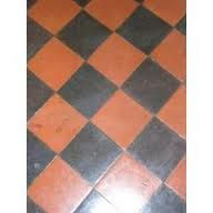 Quarry tiles: red and black. The perfect Victorian kitchen floor ...