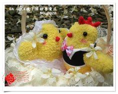 Socks doll in HA SOCK  Wedding