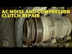 This one starts out as a noise diagnosis that ends up working in an AC clutch repair on a 1998 Acura 3.2 TL. In addition to the AC compressor clutch, we also...
