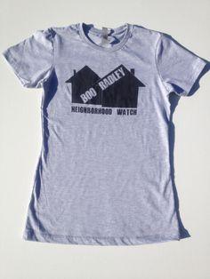 To Kill a Mockingbird's Boo Radley for Neighborhood Watch  $24 Classic Coup Tee www.classiccoup.com