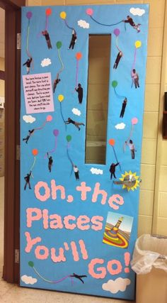 Oh, the Places You'll Go! Door decorations