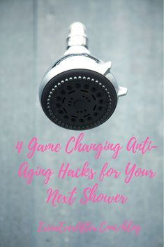 Make these 4 Changes in the Shower for more glowing, radiant skin year round. #skincare #beauty #bath  #blogginggals #bestblogrt Home Appliances, Get Rid Of Blackheads, Skin Care, House Appliances, Domestic Appliances, Skincare, Skin Treatments