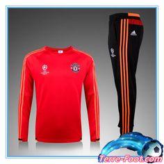 Nouveau Champions league Survetement de foot Manchester United R