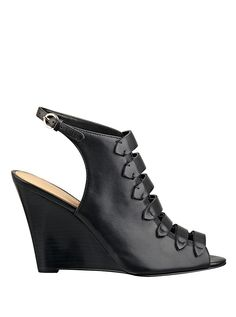 Jacie Wedge Sandals | GUESS.ca ~ Well I have to pin these!!