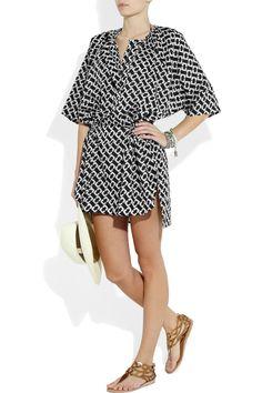 Diane Von Furstenberg beach dress.