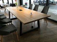 Stylowy stół konferencyjny Conference Room, Dining Table, Furniture, Home Decor, Decoration Home, Room Decor, Dinner Table, Home Furnishings, Dining Room Table