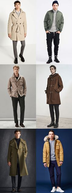 Men's Military Outerwear Inspiration Lookbook