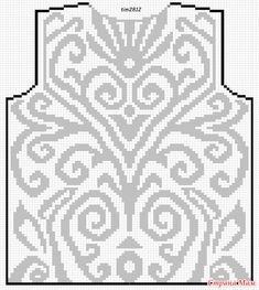 Давно облизываюсь на топик, который нашла в интернете.  Схему нарисовала сама, с удовольствием делюсь со всеми желающими.  Немного изменила схему, так она помягче как-то смотрится: Crochet Stitches Patterns, Knitting Stitches, Embroidery Patterns, Cross Stitch Patterns, Knitting Patterns, Filet Crochet, Crochet Diagram, Thread Crochet, Pattern Sketch