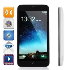 """Meizu MX2 Quad Core FIyme OS 2.0.5 WCDMA Cellphone w/ 4.4"""", GPS and Wi-Fi - Black + White (32GB) From 189,= for Euro 143,10"""