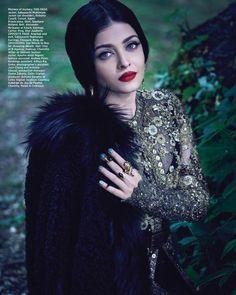 Aishwarya Rai Bachchan for Harpers Bazaar Bride India