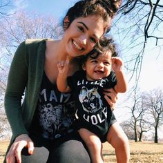 Mama wolf and little wolf matching shirts - The Pine Torch. Mama wolf tee, little wolf baby onesie, matching mother daughter, hipster baby, baby clothes.