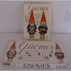 Gnomes board game. Sweet!