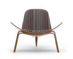 The Maharam Shell Chair Project: Point by Paul Smith.
