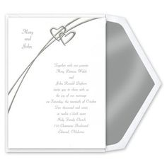 Visit us for all you wedding stationary needs! Reception Accessory Item Prices Reflect a 5% Discount & Free UPS Ground Shipping On All Orders.